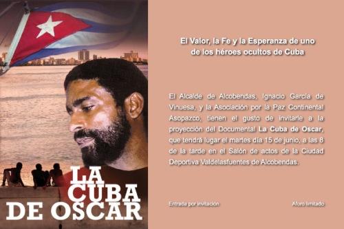Invitación La Cuba de Oscar